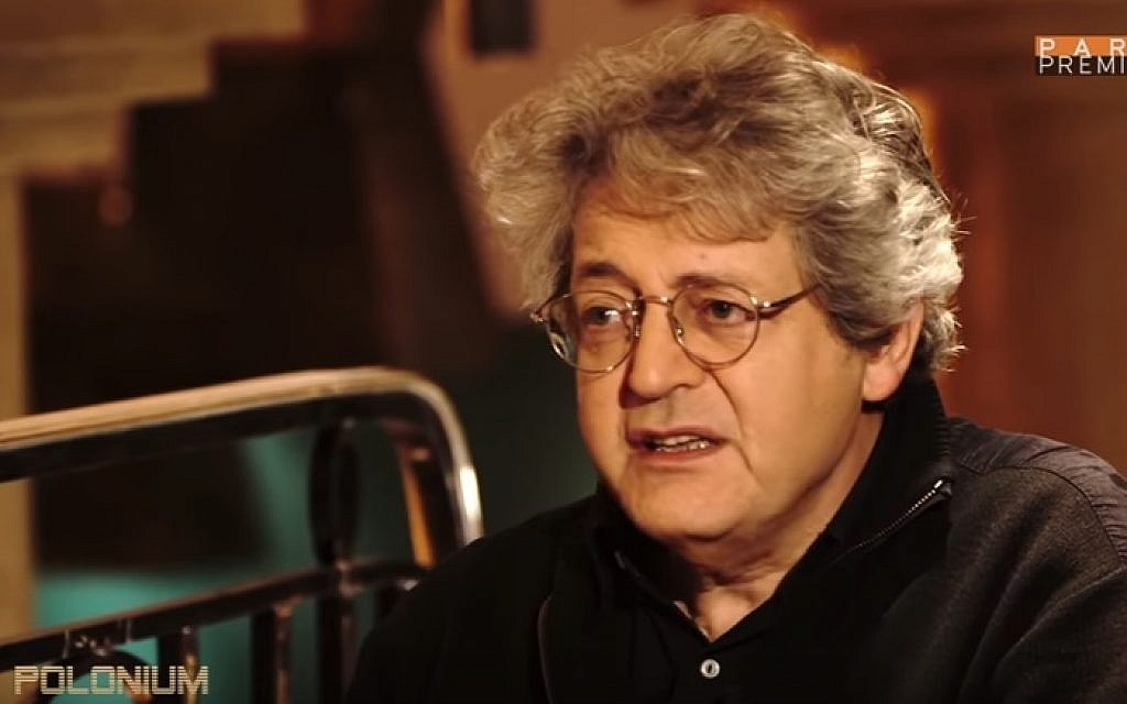 French Jewish historian Georges Bensoussan (YouTube screenshot)