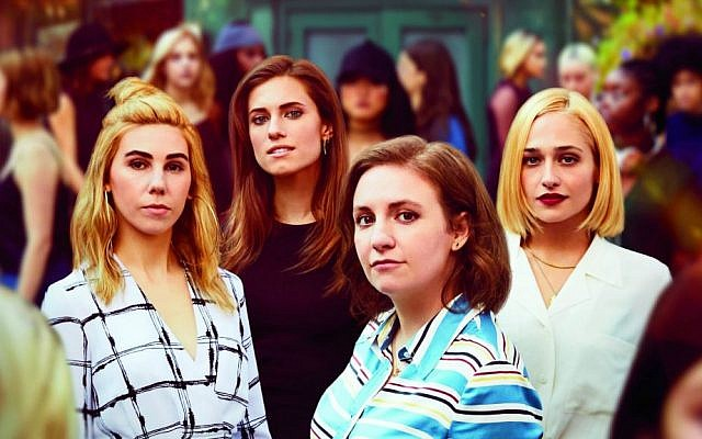 The four women of HBO's 'Girls,' which just began its final season on YES (Courtesy YES)