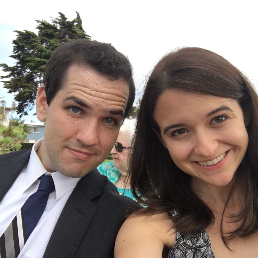 Ezra Levin and Leah Greenberg founded the anti-Trump group Indivisible with other former congressional staffers. (Courtesy of Greenberg/via JTA)