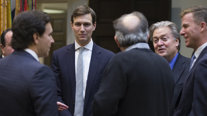 Image result for is Jared Kushner The Whisperer In Chief?