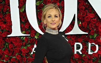 Marlee Matlin at the 70th Annual Tony Awards at The Beacon Theatre in New York City, June 12, 2016. (Cindy Ord/Getty Images for Nordstrom/via JTA)