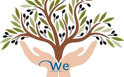 WIZO's Women and their Olive Trees exhibit logo