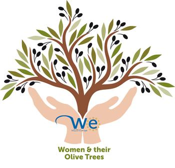 WIZO's Women and their Olive Trees exhibit logo