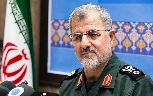 Brigadier General Mohammad Pakpour, the commander of the ground forces of the Iranian Revolutionary Guards (Wikimedia Commons, Hossein Zohrevand, CC BY 4.0)