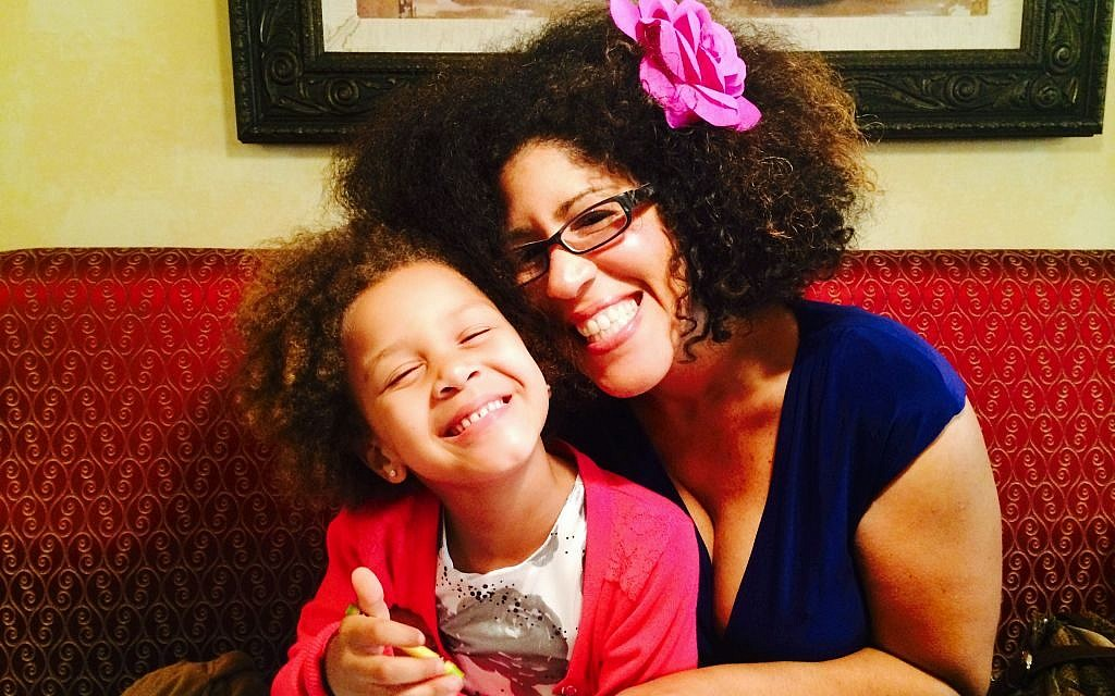 Rain Pryor with daughter Lotus, named for her great-grandmother, Mama. (Courtesy)
