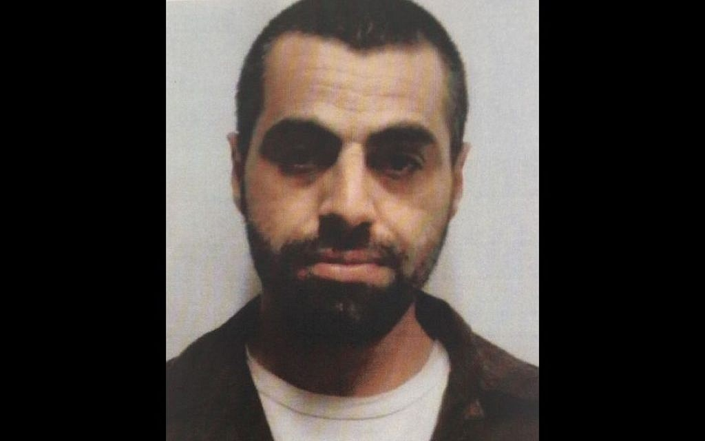 Anas Haj Yihya, a 35-year-old Arab Israeli man accused of planning to carry out terror attacks in Israel on behalf of the Islamic State. (Shin Bet)