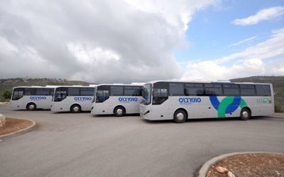 Illustrative image of Superbus buses, 2014 (CC BY-SA Yossi.malki, Wikimedia commons)