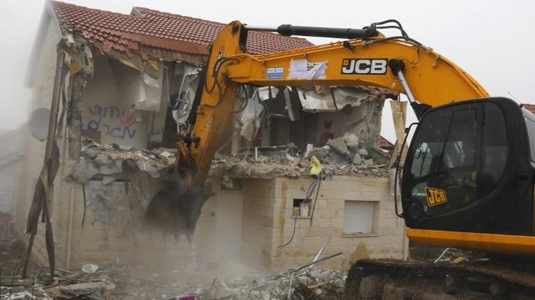 Image result for bulldoze UN