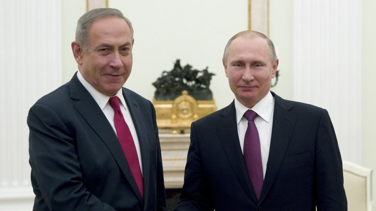 Putin and Netanyahu discuss settlement of situation in Syria