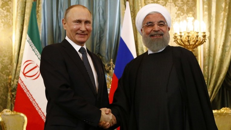 Image result for putin and rouhani