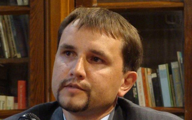 Ukranian state historian  Volodymyr Vyatrovych. (CC BY-SA, Wikimedia)