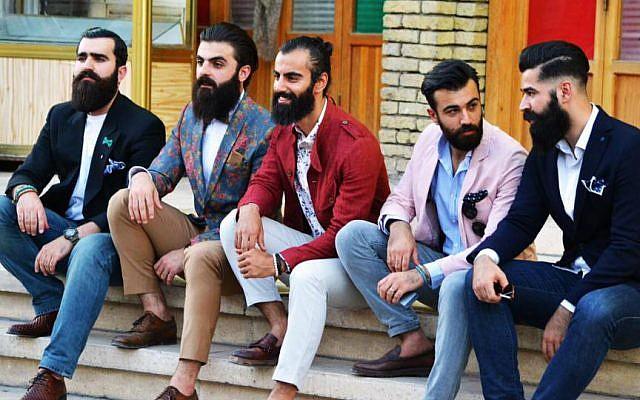 Theodor Herzl could find a place among these Mr. Erbil members, Erbil, Iraqi Kurdistan, July 2016 (Shwan Blaiy)