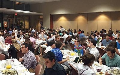 Illustrative photo of the University of Texas Hillel (via Facebook)