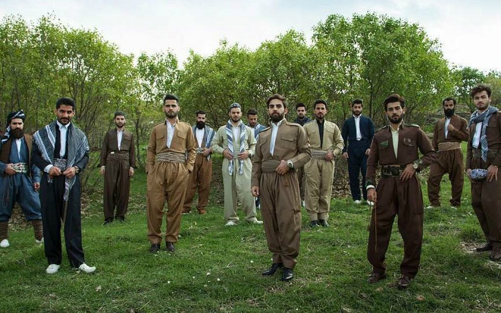 Mr. Erbil gentelmen's club members in traditional Kurdish dress, Iraqi Kurdistan, March 2016. ( Mustafa Khayat Photography MkStudio )