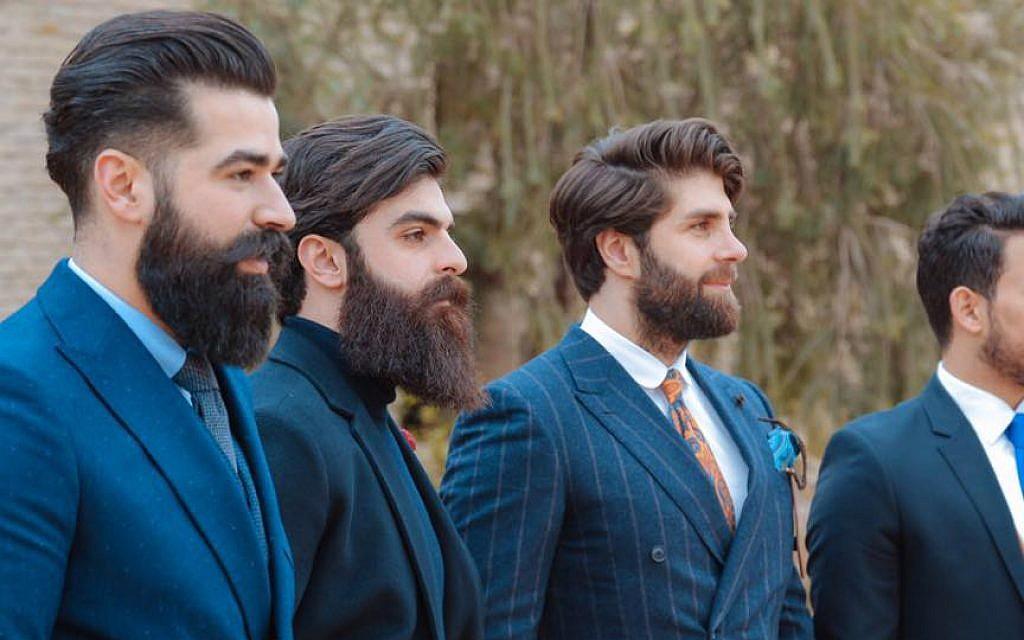 Mr. Erbil members in Erbil, Iraqi Kurdistan, February 2017 (@malo_wlat)