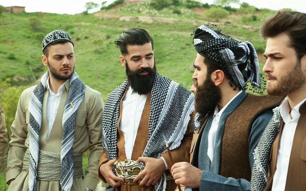 Mr. Erbil gentlemen's club members celebrate Newroz, Iraqi Kurdistan, March 2016. (@mustafakhayat @mkstudio)