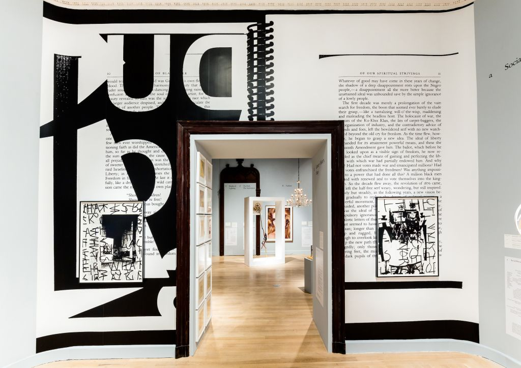 Installation view of The Arcades: Contemporary Art and Walter Benjamin, The Jewish Museum, NY. Courtesy of the artist. (Will Ragozzino/ SocialShutterbug.com)