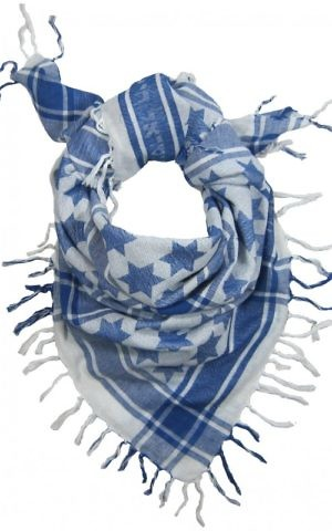 The Semitic keffiyeh, invented by Erez Safar. (TheSemitic.com)