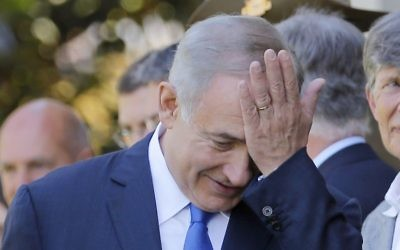 Prime Minister Benjamin Netanyahu (Jason Reed/Pool Photo via AP)