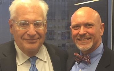 South Carolina State Rep. Alan Clemmons with US Ambassador to Israel David Friedman (Facebook)