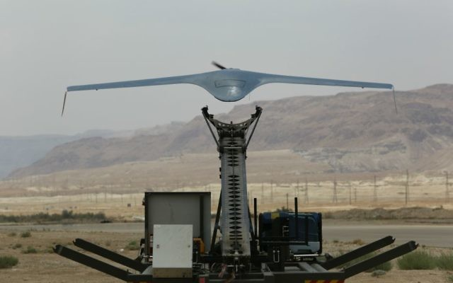 IAI's BirdEye650D is a small unmanned system intelligence gathering, surveillance and reconnaissance (ISR) uses; the system will be sold to a South American country (Courtesy)