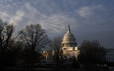 In this Feb. 17, 2017 file photo, the Capitol is seen at sunup in Washington. (AP/J. Scott Applewhite)