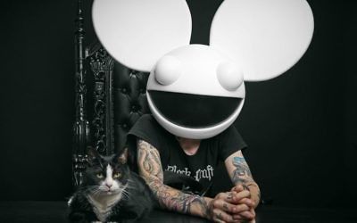 Canadian masked DJ deadmau5, will join the list of 2017 performers in Israel with his June 8 performance at Rishon Lezion's Live Park (Courtesy deadmau5)