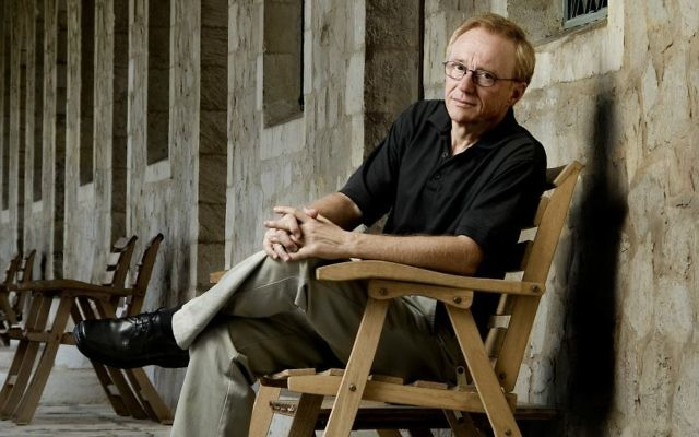 Israeli author David Grossman (Kobi Kalmanovitz)