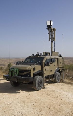 IAI's ELI-3302 Granite ISRV vehicles that will be supplied to South American country (Courtesy)