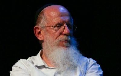 Rabbi Yaakov Medan, November 07, 2012. (Oren Nahshon / FLASH90)