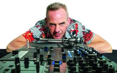 Fatboy Slim, aka Norman Cook, arrives in Israel this weekend ahead of his Sunday, March 12, 2017 Purim rave at Tel Aviv's Hangar 11 (Courtesy Fatboy Slim)
