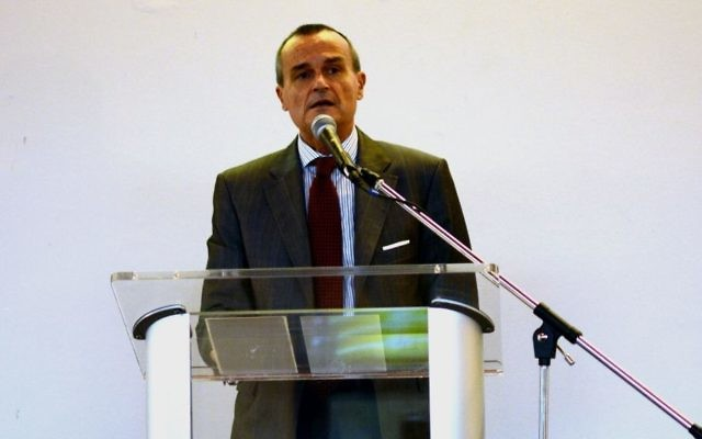 Gérard Araud, the French ambassador to the United States, in 2014. (CC BY-SA Clergier, Wikimedia Commons)