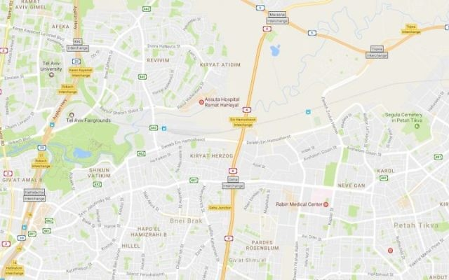 Google Maps Israel