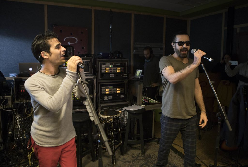 Rebels with a cause, Israeli, Iranian rockers team up for