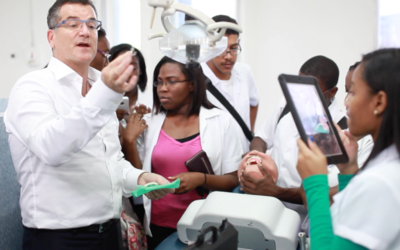 Dr. Gary Glassman flies to Jamaica several times a year to volunteer as an adjunct professor at the University of Technology's College of Oral Health Sciences in Kingston. (Courtesy)