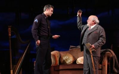 Actors Mark Ruffalo and Danny DeVito (in his Broadway debut) in Arthur Miller's 'The Price.' (Joan Marcus)