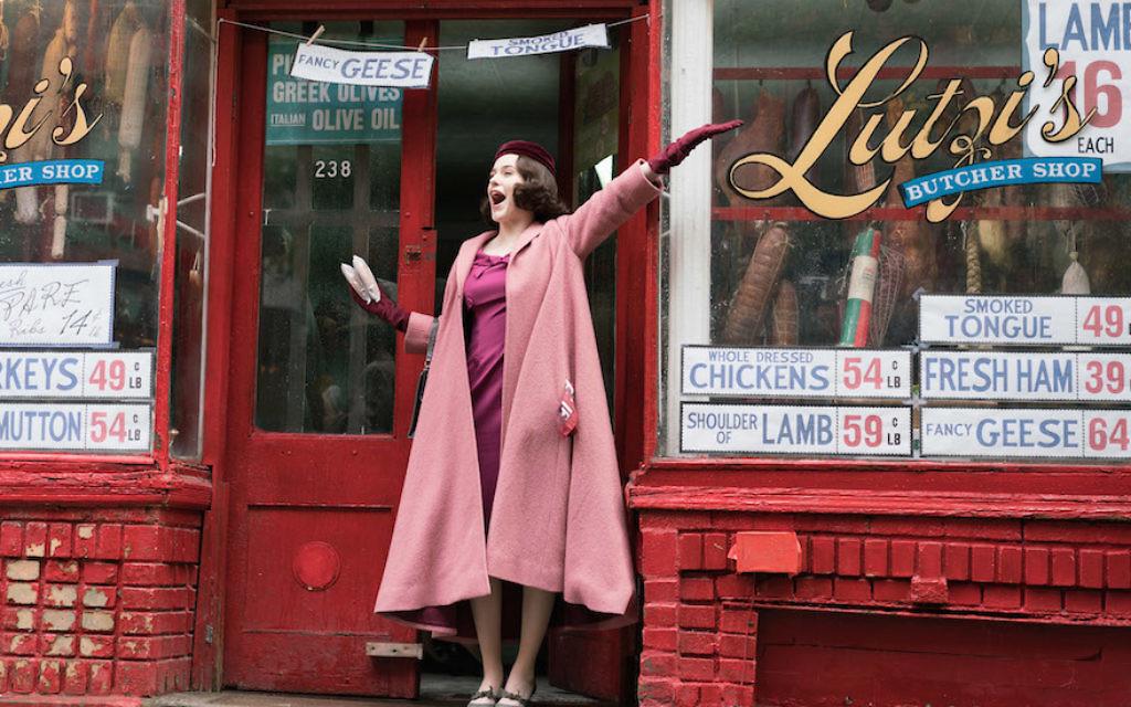 Rachel Brosnahan stars as Miriam 'Midge' Maisel, the titular character in 'The Marvelous Mrs. Maisel.' (Amazon Studios)