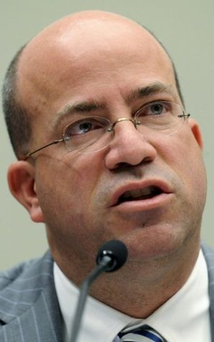 In this Thursday, Feb. 25, 2010 file photo, Jeff Zucker testifies on Capitol Hill in Washington during a House Judiciary Committee. (AP Photo/Susan Walsh, File)