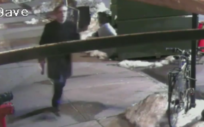 NYPD footage of stabber James Harrison Jackson. (Screen capture: New York Post)
