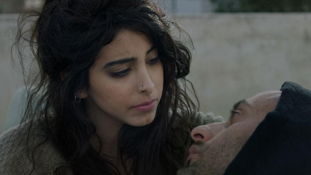 Samar Qupty and Tamer Nafar in 'Junction 48.' (Courtesy)