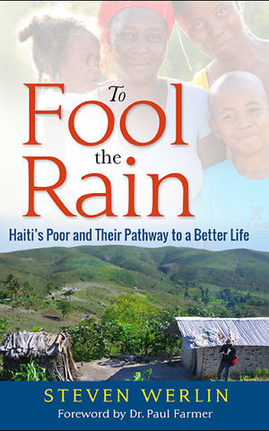 Cover, 'To Fool the Rain,' by Professor Steven Werlin. (Courtesy)