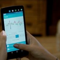 GlucoMe's app provides users with analytics and treatment plans. (YouTube screenshot)