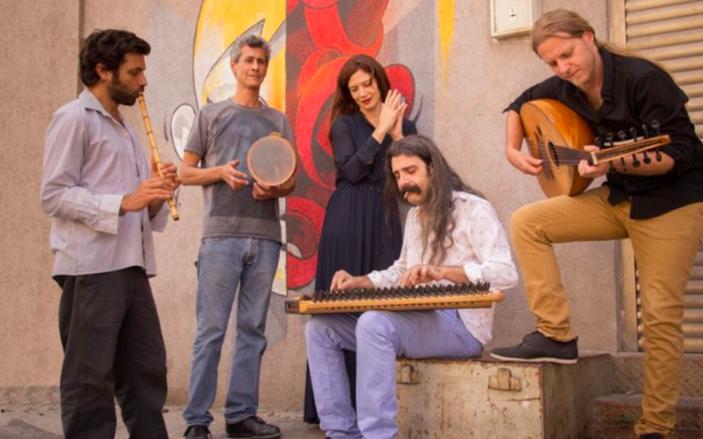 Sofi and the Baladis, an ensemble making music with Samaritan, Arabic and Israeli roots, will perform Sunday, March 19, 2017 at Tel Aviv's Papaito (Courtesy Sofi and the Baladis)