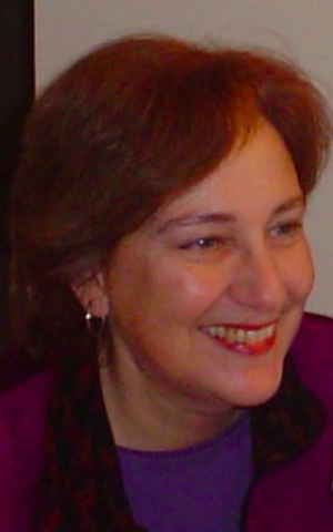 Galina Vromen, the director of Sifriyat Pijama and Maktabat al-Fanoos, the Hebrew and Arabic branches of PJ Library (Courtesy Galina Vromen)