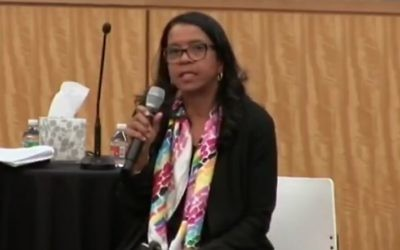 Andrea Young, Executive Director of ACLU Georgia. (YouTube screenshot)