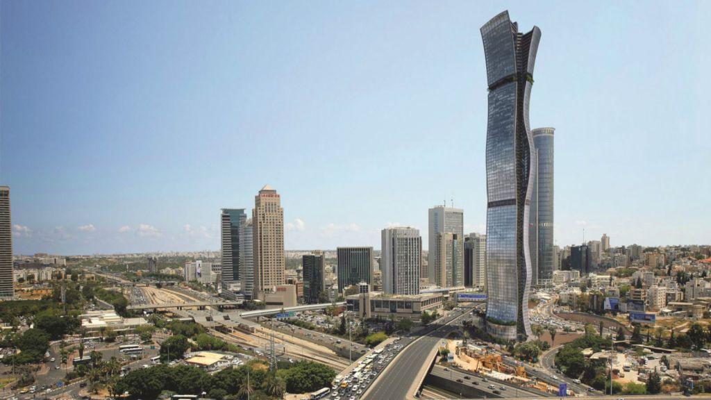 Tel Aviv To Get Israels First 100 Floor Skyscraper The Times Of