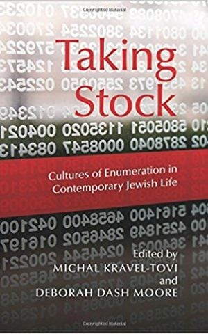 The cover of 'Taking Stock,' edited by Michal Kravel-Tovi and Deborah Dash Moore. (Courtesy)