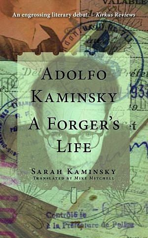 Cover, 'A Forger's Life' by Sarah Kaminsky. (Courtesy)