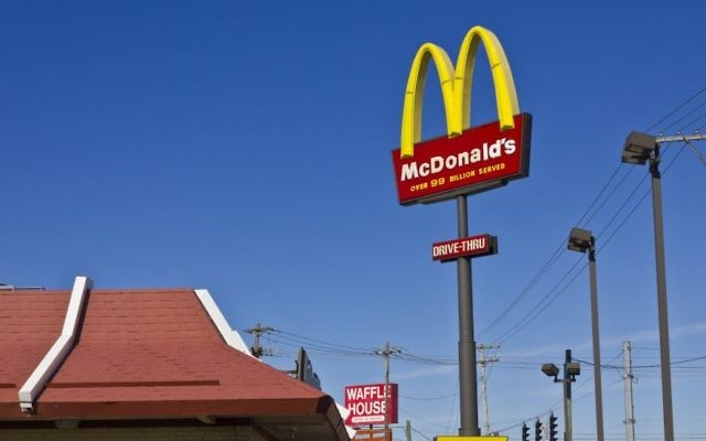 A McDonald's restaurant in Indianopolis. (Getty Images)