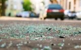 Illustrative: Glass shards on the road after a car accident (Berezko, IStock Getty Images)